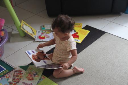 Talisa reading